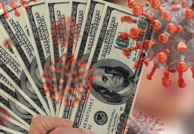 Beitragsbild: Corona und Dollars