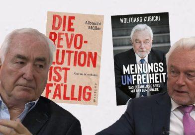 Albrecht Müller und Wolfgang Kubicki im Gespräch