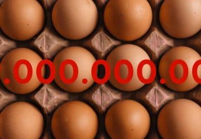 Zahl der Woche: 19.000.000.000