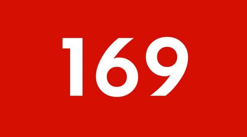 Zahl der Woche: 169
