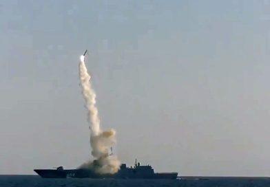 Russland testet angeblich erfolgreich eine Zirkon-Hyperschallrakete
