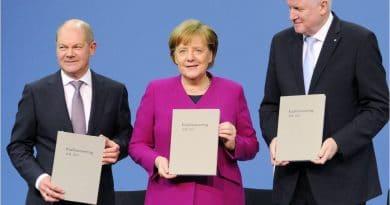 Deutschlands politische, extreme Mitte