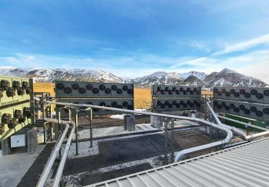 CCS-Anlage in Island: CO2 aus der Luft absaugen