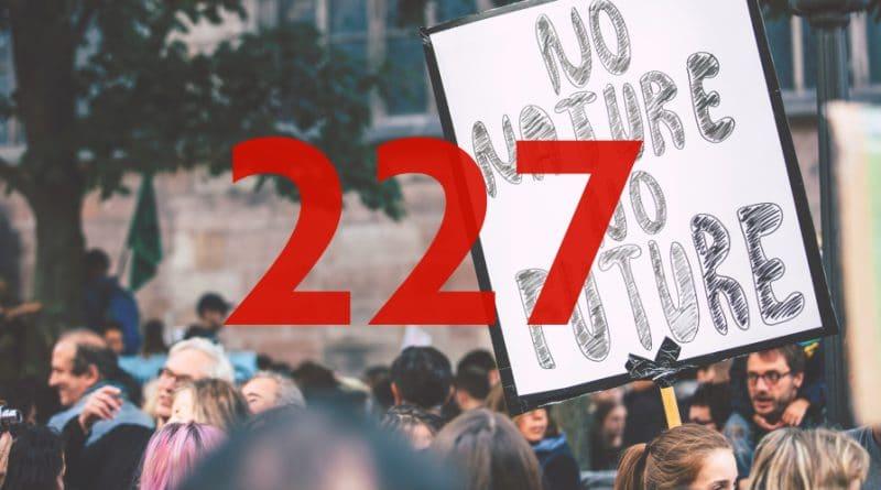 Zahl der Woche – 227