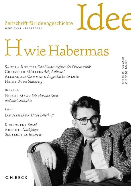 Buchcover: H- wie Habermas
