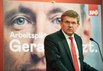 SPÖ Bundesgeschäftsführer Christian Deutsch im Interview